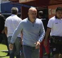 Repetto explicó que los dos refuerzos extranjeros de Liga de Quito podrían debutar ante Emelec. Foto: API