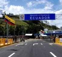 La autoridad de control migratorio rechazó la información divulgada en redes sociales. Foto: Viajandox.com.