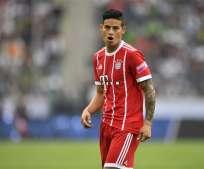 James Rodríguez no se ha pronunciado todavía sobre su ruptura sentimental. Foto: AP