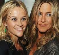 Reese Whiterspoon y Jennifer Aniston son amigas en la vida real y antes ya protagonizaron varios episodios en Friends. Foto: Tomado de El Correo
