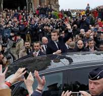 PARÍS, Francia.- El presidente francés anunció la creación de centros en Libia para registrar a posibles migrantes. Foto: Archivo.