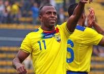 Christian Benítez es uno de los goleadores históricos de la selección ecuatoriana con 24 tantos. Foto: Archivo