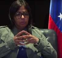 """CARACAS, Venezuela.- La excanciller venezolana sostiene que nueva """"Carta Magna"""" no """"aniquilará"""" oposición. Foto: Captura de Video."""