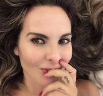 Kate comparte fotos informales y las comparte en sus redes sociales. Foto: Instagram Kate del Castillo.