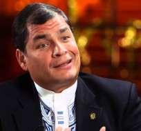 """Correa, quien se mudó a Bélgica tras dejar el cargo, dijo que Moreno está """"mal asesorado"""". Foto: Archivo."""