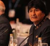 LA PAZ, Bolivia.- El presidente boliviano perdió en febrero del 2016 un referéndum nacional para modificar la Constitución y permitirle un cuarto mandato de 2020 a 2025. Foto: Diario La Razón.