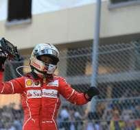 El alemán Sebastian Vettel amplió su ventaja como líder del mundial de Fórmula 1.