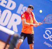 El ecuatoriano Emilio Gómez regresa al circuito ATP tras recuperarse de una lesión en el hombro.