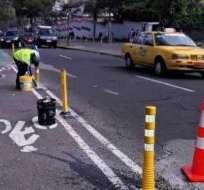QUITO, Ecuador.- El cierre durará hasta las 02h00 del martes 1 de agosto. Foto: Twitter AMT Quito.