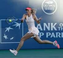 La rusa María Sharapova dijo estar feliz por su regreso al circuito de la WTA.