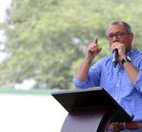 QUITO, Ecuador.- En un fuerte comunicado, el segundo mandatario toma distancia de la tesis de Moreno. Foto: Vicepresidencia de la República