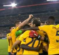 Atlético de Madrid se llevó la Audi Cup tras superar al Liverpool por penales en la final.