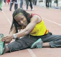 La ecuatoriana Ángela Tenorio inicia su participación en el Mundial de Londres con los 100 metros planos.