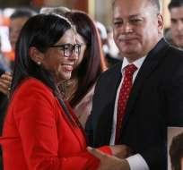 Rodríguez convocó a los más de 500 asambleístas a sesionar este sábado. Foto: AP