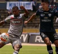 Emelec no pudo sumar en su visita a Independiente del Valle en el Atahualpa.