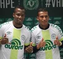 Cristhian Penilla y Fernando Guerrero ficharon esta temporada por el Chapecoense.