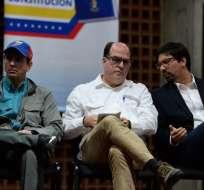 """Ministerio de Defensa dijo está implicada la """"extrema derecha venezolana"""". Foto: AFP"""