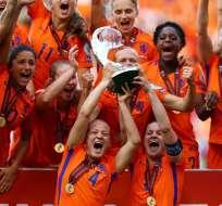 La selección femenina de Holanda logró su primer título en la Eurocopa de esta categoría.