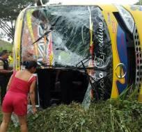 26 personas quedaron heridas, según el organismo de socorro. Foto: Redes sociales