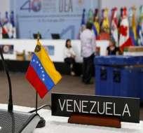 VENEZUELA.- En la cita regional, que se realizará este martes, se revisará la situación de Venezuela. Foto: Archivo