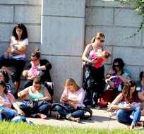 La cita reunió a cerca de 800 participantes en su tercer año consecutivo de realización. Foto: Facebook Breastfeeding World.