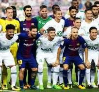 Más allá del resultado, el partido sirvió para rendir tributo a las víctimas del accidente aéreo que sufrió el equipo brasileño.
