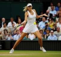 La tenista rusa de 30 años hizo el anuncio a través del sitio web de la WTA.