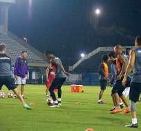 El plantel de Barcelona se encuentra desde el domingo en territorio brasileño.