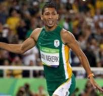 El sudafricano Wayde Van Niekerk fue designado por Usain Bolt como su sucesor.