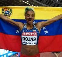 La atleta Yulimar Rojas pidió que terminen las peleas entre hermanos venezolanos.