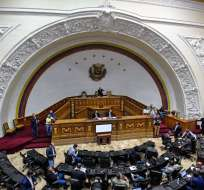 """""""Desconocemos la Constituyente como un todo"""", dijo el opositor Juan Pablo Guanipa. Foto: AFP"""