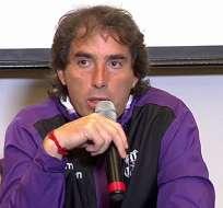 El estratega uruguayo Guillermo Almada nuevamente se enojó con la prensa guayaquileña.