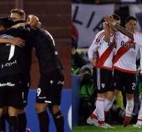 Argentina ya tiene dos representantes en los cuartos de final de la Libertadores.
