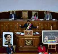 """Me subordino a los poderes de esta Asamblea Nacional Constituyente"", había expresado. Foto: AFP"