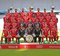 El campeón alemán Bayern Múnich saluda al Ecuador por su gesta independentista.