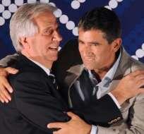 MONTEVIDEO, Uruguay.- Vázquez le dijo al semanario Búsqueda que no le pedirá la renuncia a su vicepresidente, independientemente del dictamen de la Justicia. Foto: AFP.