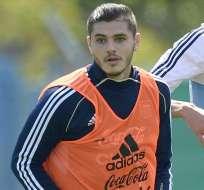 Mauro Icardi será el nueve de Jorge Sampaoli en los partidos por eliminatorias.