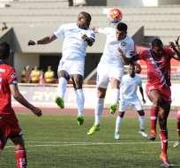 Guayaquil City y El Nacional empataron 2-2 en el estadio Christian Benítez.