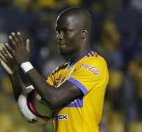 El delantero ecuatoriano Enner Valencia volvió al Miguel Hidalgo pero con Tigres.