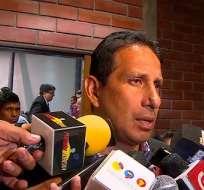 José Cevallos minimizó el impasse que protagonizaron Jonatan Álvez y Guillermo Almada.