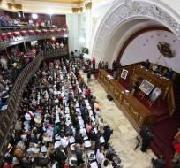 Autoridad habló ante Asamblea Constituyente, que redacta la nueva Constitución. Foto: AVN