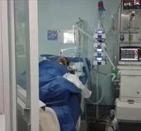 LOJA, Ecuador.- Wilson Orellana fue rociado con combustible y quemado mientras dormía. Foto: Captura Video.
