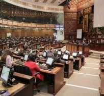 Legisladores trataron el pedido de aprobación del Protocolo de Nagoya.  Foto: Asamblea Nacional