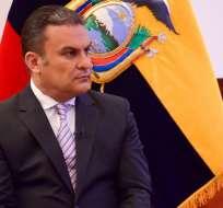 QUITO, Ecuador.- Según José Serrano, el Código Integral Penal ampara su participación en este proceso. Foto: Twitter José Serrano
