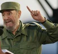 Fidel Castro. Foto: AP