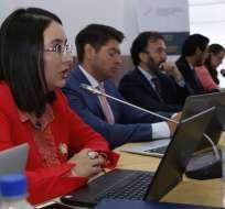 Autoridades acuden a Comisión de Asamblea por análisis de proforma presupuestaria. Foto: API