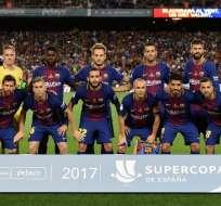 El FC Barcelona es el equipo más importante de la ciudad catalana. Foto: AFP