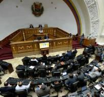 La Asamblea acordó asumir competencias del Parlamento controlado por la oposición. Foto: Archivo