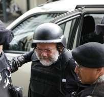 QUITO, Ecuador.- El fiscal Carlos Baca confirmó que aún no se suscribe acuerdo de cooperación eficaz con Pareja Yannuzzelli. Foto: API