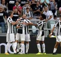 Juventus goleó al Cagliari en el inicio de la Serie A italiana, en la que apunta a su séptimo título consecutivo.